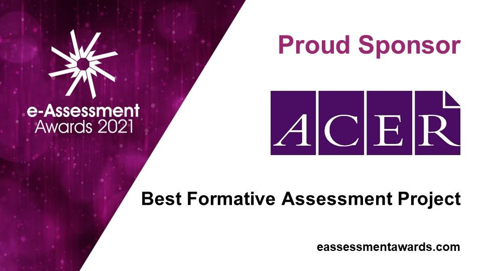 ACER, sponsor of the 2021 e-Assessment Awards