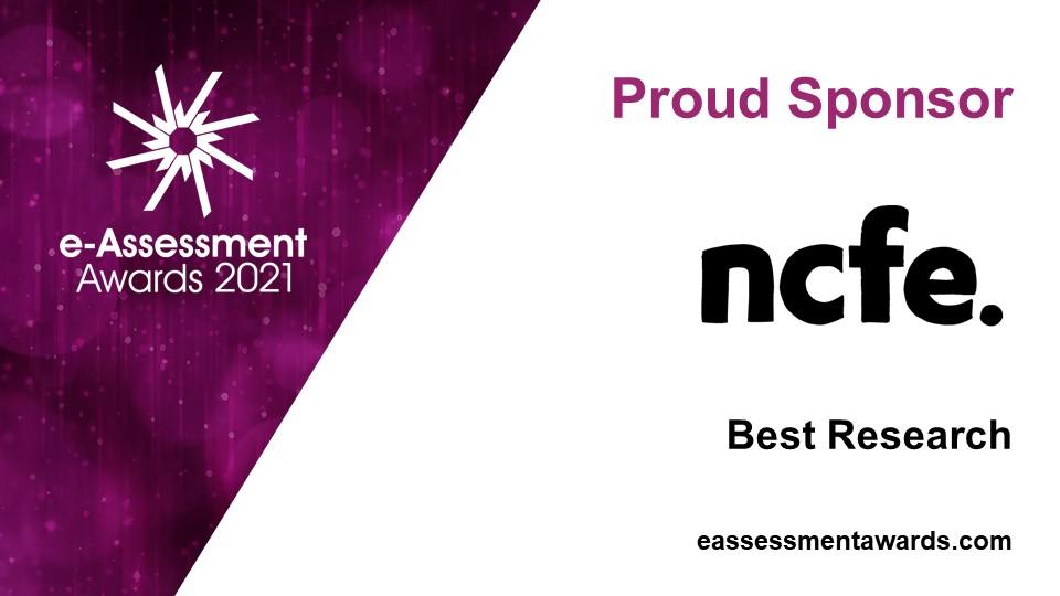 e-Assessment Award Sponsor 2021